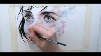 Just One in a Thousand – Beautiful Speed Painting by Agnes Cecile