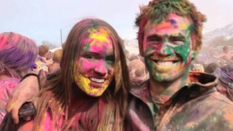 Optimist: Inspired by a Festival of Color