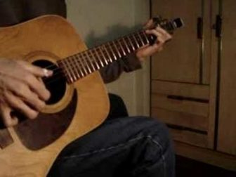 Pink Panther Acoustic Percussive Guitar