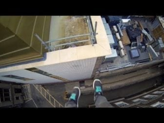 See the World through the Eyes of a Parkour Free Runner