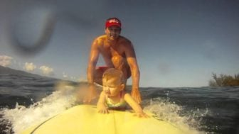 Surf Baby Surf – The World's Youngest Surfer?