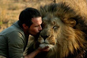 The Man who Cuddles with Lions