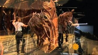 """War Horse"" – The Puppet Show that Honors the Horses of History"