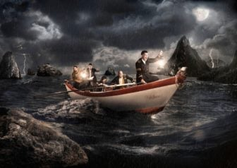 Watch a Photoshop Artist Turn a Couple of Photos into an Epic Scene