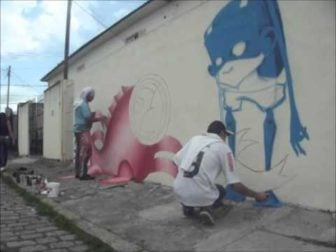 Watch Brazilian Graffiti Art being Born