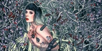 Femme of Fantasy Come Alive in Kelly McKernan's Paintings