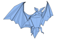 Step by step instructions for making this realistic and difficult origami bat design
